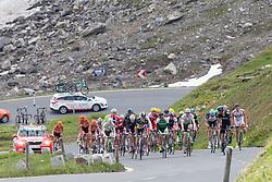 03.07.2013, Fuscher Lacke, Grossglockner Hochalpenstrasse,  AUT, 65. Oesterreich Rundfahrt, 4. Etappe, Matrei in Osttirol - St. Johann Alpendorf, im Bild Peleton // during the 65 th Tour of Austria, Stage 4, from Matrei in Osttirol to St. Johann Alpendorf, Grossglockner Hochalpenstrasse, Austria on 2013/07/03. EXPA Pictures © 2013, PhotoCredit: EXPA/ Johann Groder