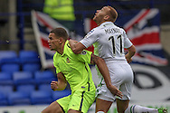 Lois Maynard (Tranmere Rovers) Waits for the ball to come down during the Vanarama National League match between Tranmere Rovers and Southport at Prenton Park, Birkenhead, England on 6 February 2016. Photo by Mark P Doherty.