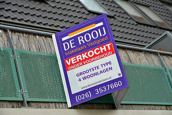 Nederland, Wijchen, 5-11-2015 Dit huis is verkocht. Foto: Flip Franssen/Hollandse Hoogte