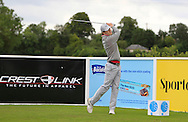 Chris Carvill (NIR) on the 5th tee during Round 1 of the Northern Ireland Open in Association with Sphere Global & Ulster Bank at Galgorm Castle Golf Club on Thursday 6th August 2015.<br /> Picture:  Thos Caffrey / www.golffile.ie
