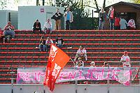 Supporters Reims - 09.05.2015 -  Evian Thonon / Reims  - 36eme journee de Ligue 1<br />Photo : Jean Paul Thomas / Icon Sport