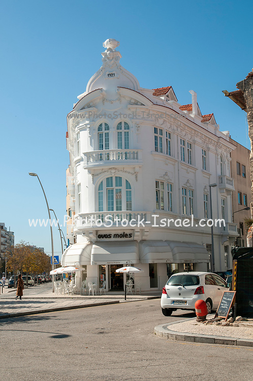 Detail of an old building, Aveiro, Portugal