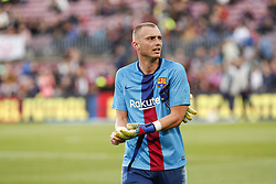 March 9, 2019 - Barcelona, Catalonia, Spain - FC Barcelona goalkeeper Jasper Cillessen (13) during the match FC Barcelona v Rayo Vallecano, for the round 27 of La Liga played at Camp Nou  on 9th March 2019 in Barcelona, Spain. (Credit Image: © Mikel Trigueros/NurPhoto via ZUMA Press)