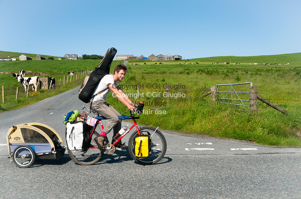 United Kingdom, Scotland, Shetland islands, Central Mainland, backpacker area of Scalloway // Royaume Uni, Écosse, Îles Shetland, région Centre Mainland, voyageur région de Scalloway
