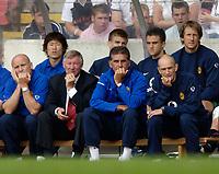 Fotball<br /> Foto: SBI/Digitalsport<br /> NORWAY ONLY<br /> <br /> Clyde v Manchester United, Preseason Friendly. 16/07/2005.<br /> <br /> The Manchester United bench.