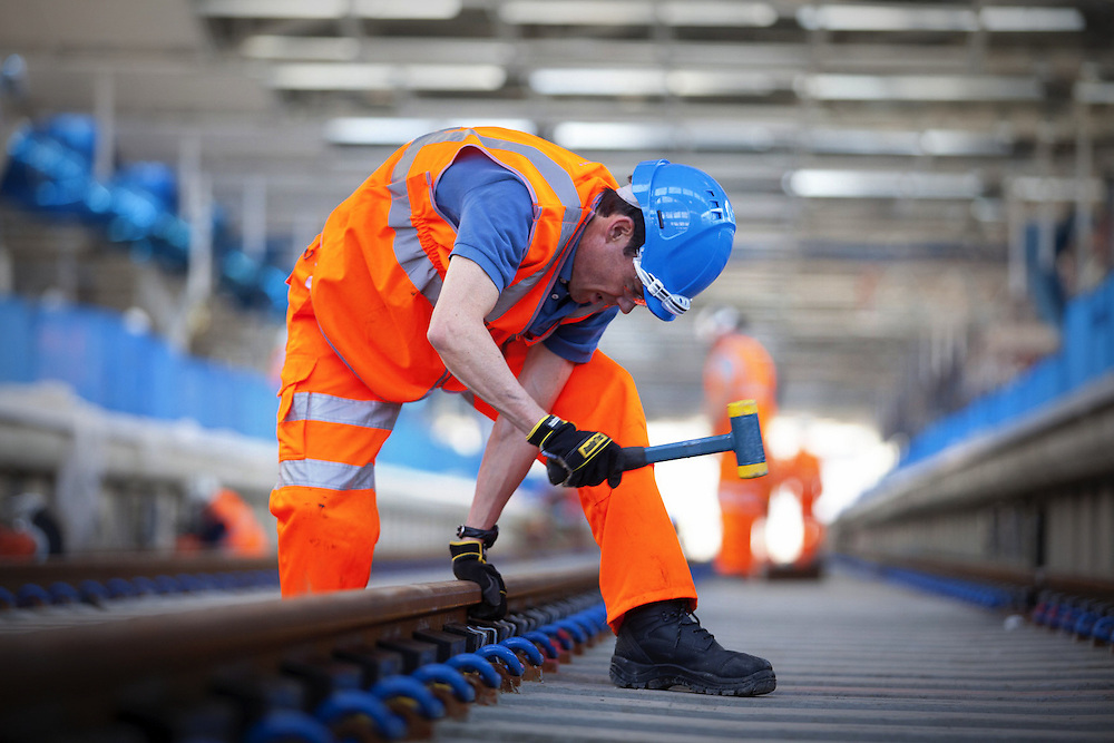 Blackfriars Station , London - for TATA Steel