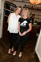 Left to right, JANE GOTTSCHALK and DR JILL ROBINSON at a private screening of Cages of Shame in aid of Animals Asia UK held at The Electric Cinema, 191 Portobello Road, London W11 on 17th June 2013.