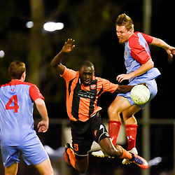 BRISBANE, AUSTRALIA - APRIL 21:  during the FQPL Senior Men's Round 11 match between Eastern Suburbs and Ipswich Knights on April 21, 2018 in Brisbane, Australia. (Photo by Eastern Suburbs / Patrick Kearney)