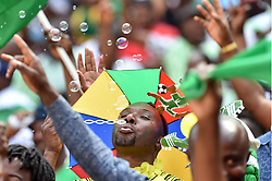 SOUTH AFRICA: JOHANNESBURG: Nigeria supporters come in large numbers to support their team as it plays against Bafana Bafana for the Africa Cup of Nations (Afcon) at the FNB stadium in Gauteng.<br />Picture: Itumeleng English/African News Agency(ANA)
