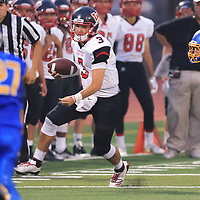 (Photograph by Bill Gerth/ for SVCN/9/1/17)Westmont vs Prospect in a preseason football game at Prospect High School, Saratoga CA on 9/1/17. (Westmont 20 Prospect 0)