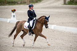 Peeters Jelle (NED) - Den Ostriks Dailan<br /> European Championship Poney - Fontainebleau 2012<br /> © Dirk Caremans
