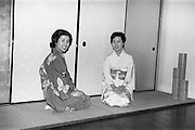 14/02/1964<br /> 02/14/1964<br /> 14 February 1964<br /> Japanese visitors at the Municipal Gallery of Art (Hugh Lane Gallery) to see a Japanese display.
