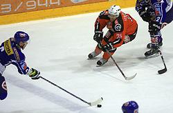 Conny Stromberg (25) at ice hockey match Acroni Jesencie vs EC Pasut VSV. in EBEL League,  on November 23, 2008 in Arena Podmezaklja, Jesenice, Slovenia. (Photo by Vid Ponikvar / Sportida)