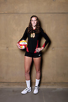 10 August 2010: #10 Sara Shaw OH/OPP  on the Pac-10 NCAA College Women's Volleyball team for the USC Trojans Women of Troy photographed at the Galen Center on Campus in Southern California. .Images are for Personal use only.  No Model Release, No Property Release, No Commercial 3rd Party use. .Photo Credit should read: ©2010ShellyCastellano.com