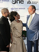 Denzel Washington and Pauletta Washington and Dick Parsons at The Apollo Theater 4th Annual Hall of Fame Induction Ceremony & Gala with production design by In Square Circle Design Concepts, held at The Apollo Theater on June 2, 2008