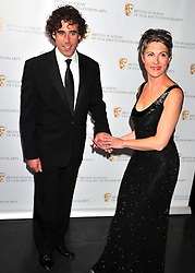 © licensed to London News Pictures. London, UK  08/05/11 Stephen Mangan and Tasmin Greig attends the BAFTA Television Craft Awards at The Brewery in London . Please see special instructions for usage rates. Photo credit should read AlanRoxborough/LNP