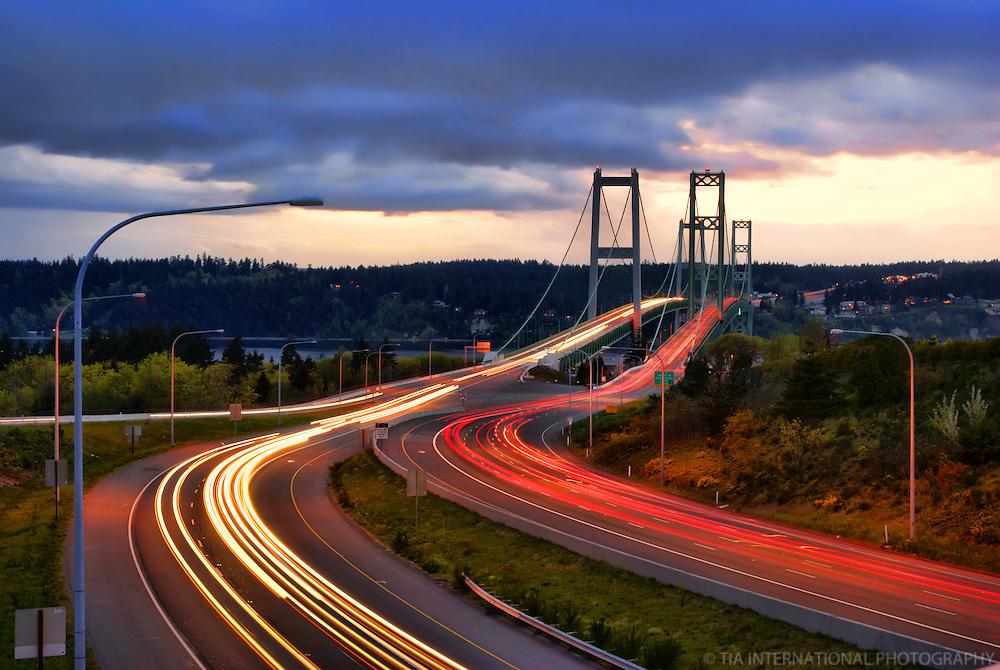 Tacoma Narrows Bridge, Tacoma, Washington