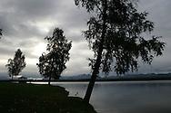 11th September 2008, Wasilla, Alaska. Lake Lucile, where US Republican Vice Presidential pick Sarah Palin has a home. PHOTO © JOHN CHAPPLE / REBEL IMAGES.tel: +1-310-570-910