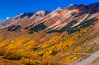 11,814 foot Ophir Pass, southwest Colorado USA.