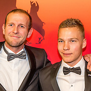 NLD/Amsterdam/20161221 - NOC*NSF Sportgala 2016, Teun Mulder en Tristan Bangma