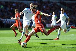 March 24, 2019 - Cardiff, United Kingdom - Gareth Bale during the UEFA European Championship Group E Qualifying match between Wales and Slovakia at the Cardiff City Stadium, Cardiff on Sunday 24th March 2019. (Credit Image: © Mi News/NurPhoto via ZUMA Press)