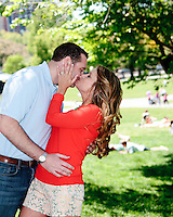 Katelyn and Dan {Engagement} in Boston - no matter where we stopped to capture an image it seemed perfect.