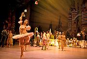 Rehearsing Swan Lake at the Colón opera house, Buenos Aires city, Argentina.
