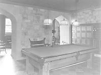 1925 Billiards room at 1847 Camino Palmero