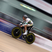 Amy Cure, Australia, in action during the Women Omnium, Flying Lap during the 2012 Oceania WHK Track Cycling Championships, Invercargill, New Zealand. 21st November 2011. Photo Tim Clayton