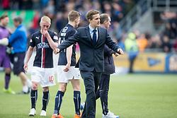 Falkirk's Will Vaulks at the end. <br /> Falkirk 1 v 0 Morton, Scottish Championship game  played 1/5/2016 at The Falkirk Stadium.