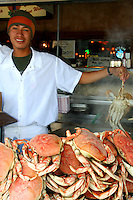 Dungeness Crabs at Fishermans Wharf, San Francisco
