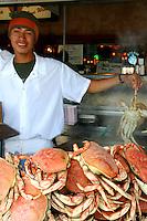 Dungeness Crabs at Fishermans Wharf, San Francisco
