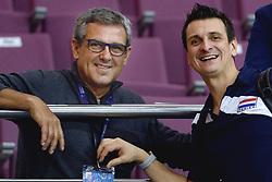 09-01-2016 TUR: European Olympic Qualification Tournament Rusland - Nederland, Ankara<br /> De Nederlandse volleybalsters hebben de finale van het olympisch kwalificatietoernooi tegen Rusland verloren. Oranje boog met 3-1 voor de Europees kampioen (25-21, 22-25, 25-19, 25-20) / Coach Jose Roberto Guimaraes en Coach Giovanni Guidetti