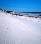 Sandy beach on Westray, Orkney Islands, Scotland