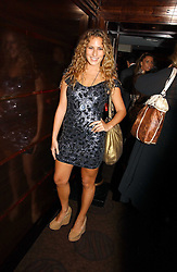 CHARLOTTE DELLAL at a party to celebrate the 50th Anniversary of Gina Shoes held at The Bar, The Dorchester, Park Lane, London on 19th September 2006.<br /><br />NON EXCLUSIVE - WORLD RIGHTS