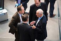 DEU, Deutschland, Germany, Berlin, 13.12.2017: Der AfD-Kandidat für das Amt des Bundestagsvizepräsidenten, Albrecht Glaser (AfD, Alternative für Deutschland) bei einer Plenarsitzung im Deutschen Bundestag.