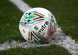 August 22, 2017 - London, England, United Kingdom - Match Ball.during Carabao Cup 2nd Round   match between Crystal Palace and Ipswich Town at Selhurst Park Stadium, London,  England on 22 August 2017. (Credit Image: © Kieran Galvin/NurPhoto via ZUMA Press)