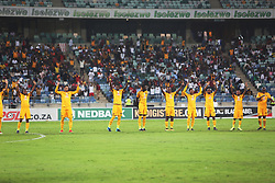 10032018 (Durban) Kaizer Chiefs  against Stellenbosch FC to advance to the next round of the Nedbank Cup when hosting Stellenbosch FC at the Moses Mabhida Stadium. Amakhosi went down 3-1 to arch-rivals Orlando Pirates in a tense Soweto derby match last weekend where they lost ground in their league title chase.Picture: Motshwari Mofokeng/African News Agency/ANA