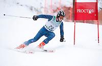 Proctor/Blackwater Tecnica Cup alpine giant slalom ski race January 14, 2012.