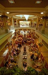 Cafe in Eldon Square shopping centre Newcastle Upon Tyne UK