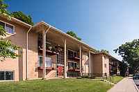 Architectural exterior image of Springfield Gardens Apartments in Virginia by Jeffrey Sauers of Commercial Photographics, Architectural Photo Artistry in Washington DC, Virginia to Florida and PA to New England