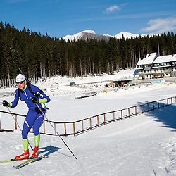 20101112: SLO, Biathlon - Team of Slovenia during practice session at Pokljuka