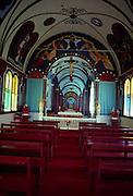 Star of the Sea Painted Church, Kalapana, Island of Hawaii<br />