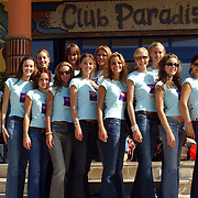Miss Nederland 2003 reis Turkije, 12 missen voor ingang hotel club paradiso Alanya