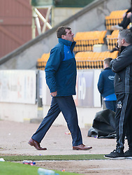 St Johnstone manager Tommy Wright after Danny Swanson misses a chance. St Johnstone 1 v 2 Aberdeen. SPFL Ladbrokes Premiership game played 15/4/2017 at St Johnstone's home ground, McDiarmid Park.