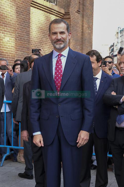 June 16, 2017 - Madrid, Spain - King Felipe VI of Spain attends Bullfights at Las Ventas Bullring on June 16, 2017 in Madrid, Spain. (Credit Image: © Oscar Gonzalez/NurPhoto via ZUMA Press)