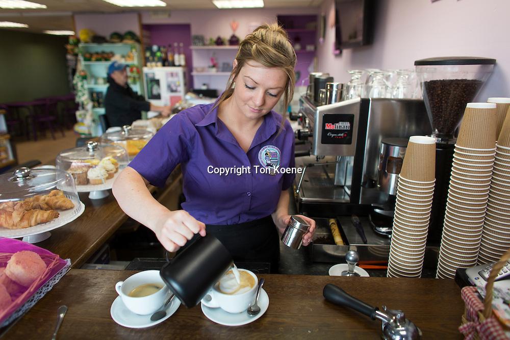 coffeeshop in Ballycastle, Northern Ireland