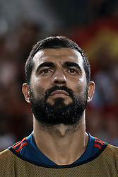 September 11, 2018 - Elche, Alicante, Spain - Raul Albiol of Spain looks on prior to the during the UEFA Nations League A group four match between Spain and Croatia at Manuel Martinez Valero on September 11, 2018 in Elche, Spain  (Credit Image: © David Aliaga/NurPhoto/ZUMA Press)