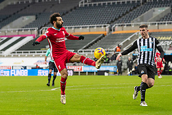 NEWCASTLE-UPON-TYNE, ENGLAND - Wednesday, December 30, 2020: Liverpool's Mohamed Salah during the FA Premier League match between Newcastle United FC and Liverpool FC at St. James' Park. The game ended in a goal-less draw. (Pic by David Rawcliffe/Propaganda)