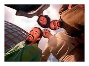 GASTON DE CARDENAS/EL NUEVO HERALD -- Cafe Tacuba a Mexican rock band.  CLOCKWISE FROM BOTTOM LEFT: Anonimo, Emanuel, Joselo, and Quique.